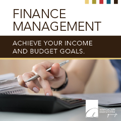 Finance Management informational sheet linking to PDF